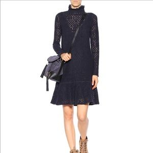 See by Chloe size L Abyss Blue dress